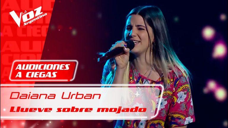 Daiana Urban se presento en La Voz Argentina 2021.